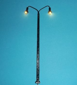 Item Code YL12 - Double Lattice Mast Yard Light with Warm White LEDs